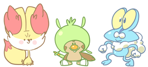 beautiful new gen6 babies by Momogirl