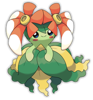 Mega Bellossom by Smiley-Fakemon