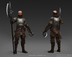 Medieval Dude by jimficker