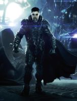 Photomanipulation : General Zod by Crakower