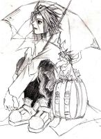 Jing and Umbrella by ViCoDe