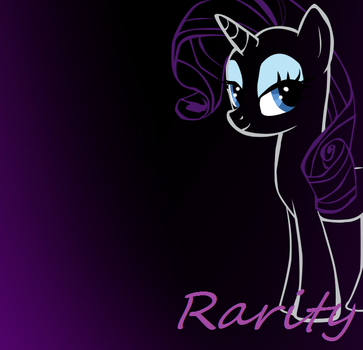 Rarity Vector for Desktop by erinrocks122
