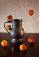 Nature morte aux abricots by MD-Arts
