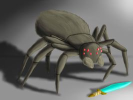 Spider Realistic by ToaLittleboehn