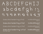 Kriss Thai and English Font by kwanvero