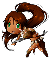LoL: Nidalee by Thanysa