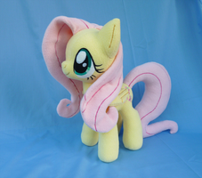 Fluttershy Plush V5 by Wild-Hearts