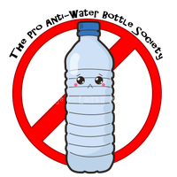 Pro Anti-Water Bottle Society by Perry-the-Platypus