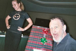 Robert, Nancy and My Present by DreamRevolution
