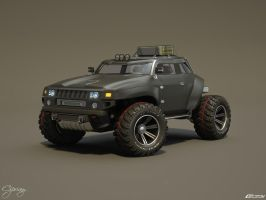 Hummer HB concept 24 by cipriany