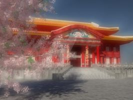 Shuri Castle Inspired by Benj18BK