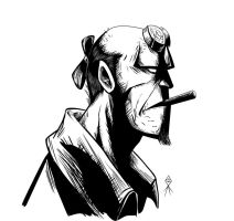 Hellboy by MLAYCO
