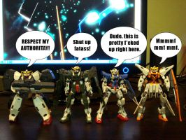 Gundamm 00 meets South Park by type100