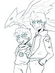 Ray and Louis Sketch by VermilionFly