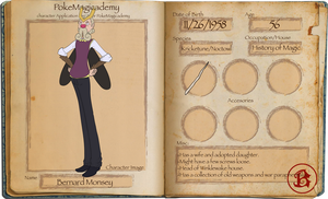 PM: Professor Monsey by Bloomins
