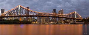 Storey Bridge by robertvine