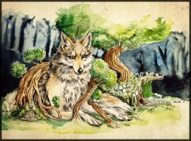 Nature by Imaginary-wolf