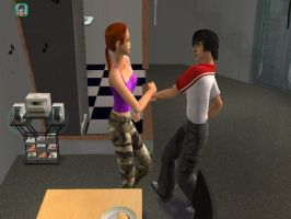 Sims 2 - Tammy and Keith by radstylix