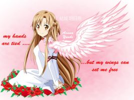 .: SAO : Asuna : my hands are tied ...... :. by Sincity2100