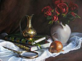 Still life practise by kafine