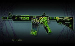 M4a4 Extrinsic 01 by Camponotus