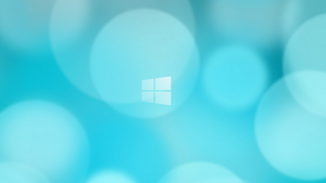 Windows 8 Blurry Circles Wallpaper by gifteddeviant