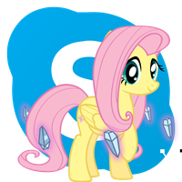 Fluttershy Skype icon by Dribmeg