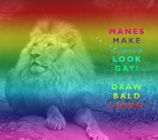 Gay lions, lol... by Pristichampsus