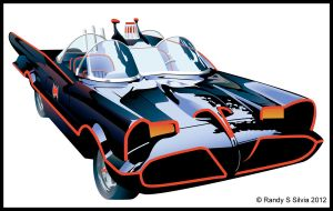 1966 Batmobile by Ransolo