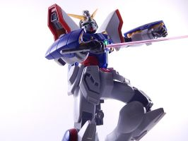 [G Gundam] MG Shining Gundam by BlackSpottedZebra