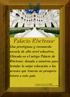 Cartel de promocion - Instituto Palacio Rhetenor by NadeshikoLove1
