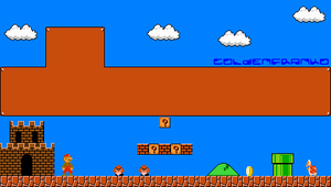 Super Mario Bros PSP wallpaper by GoldenfrankO