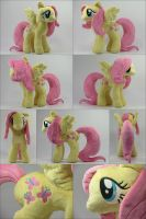 Plush Fluttershy MultiView! by HollyIvyDesigns