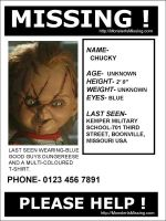 Missing:Chucky by harperc