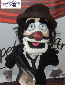 Hobo Clown Puppet by PuppetSmith Arts by kingart4