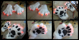 Glint Handpaws by CuriousCreatures