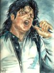 Michael Jackson - Bad Tour by mjdrawings