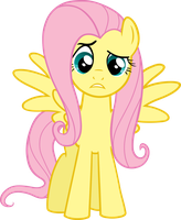 Fluttershy Vector 3 by scrimpeh