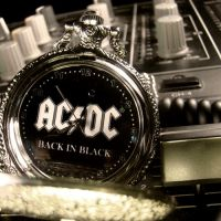 ACDC Rockstar Pocket Watch by Om-Society