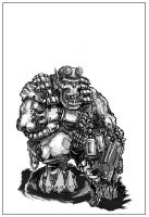 Ork at rest by PabelBilly