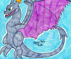 Commission- Damien the Aerodactyl by FlygonPirate