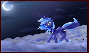 Midnight gallop by InflatedSnake