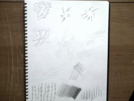 Pencil Exercises I by TheBlackNotebook