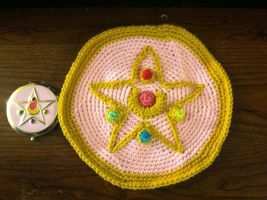 Sailor Moon R Brooch Pillow WIP by ManifestedDreams