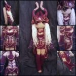 Syndra amigurumi from League of Legends by ForgottenMermaid