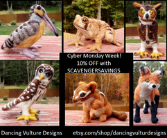 SCAVENGERSAVINGS for Cyber Monday! by DancingVulture