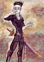 Watercolour Marc by UndeadMadhatter