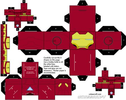 Iron man Mark 5 Armor by mikeyplater