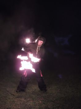 Imbolc Fire Dancing 14 by RobBarker