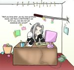 While the Receptionist is Away by Folkeye
